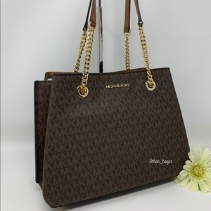 Michael Kors Teagen Large Long Drop Tote